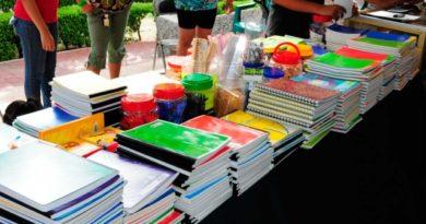 Útiles gratuitos para los estudiantes de primaria: Morena