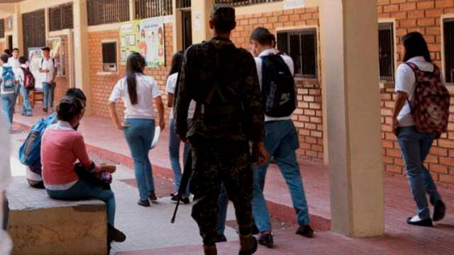 Inseguridad en centros educativos preocupa a los hondureños