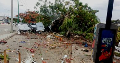 Mueren siete personas al ser arrolladas por tráiler en Chiapas