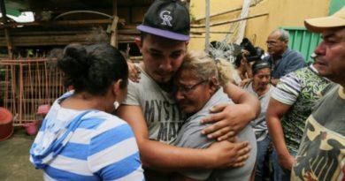 Libera gobierno de Nicaragua a 26 jóvenes manifestantes