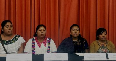 Mujeres indígenas de Chiapas piden a AMLO detener desplazamientos