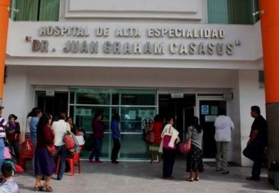 Revelan aumento de contagios en hospitales de Tabasco