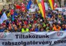 Protestas contra 'Ley de la esclavitud' en Hungría