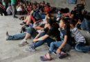Detienen a 200 migrantes en frontera con Guatemala