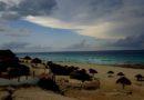 Anulan crucifixión de Cristo por mal clima en Cancún